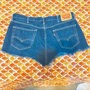 LEVIS 514 Cutoffs Jeans Shorty Shorts 38 euc